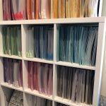 Cardstock Organization by Color