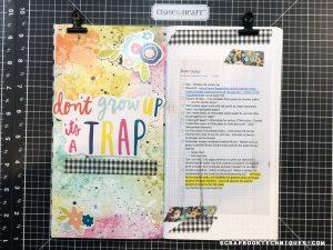 Crafty Journal Brain Dump