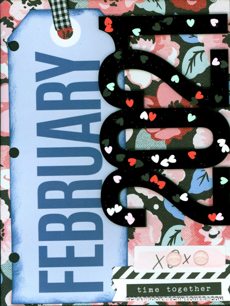 Memory Journal Feb Cover