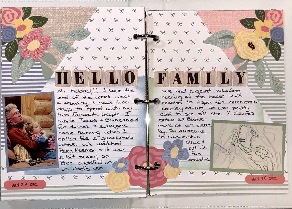 Memory Journal example