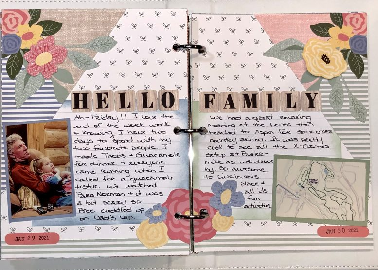 Memory Journal example