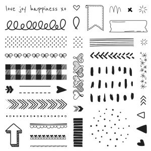 Doodled Borders Stamp Set