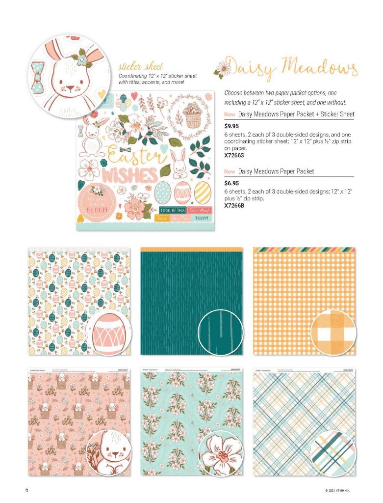 Daisy Meadows Paper Stickers