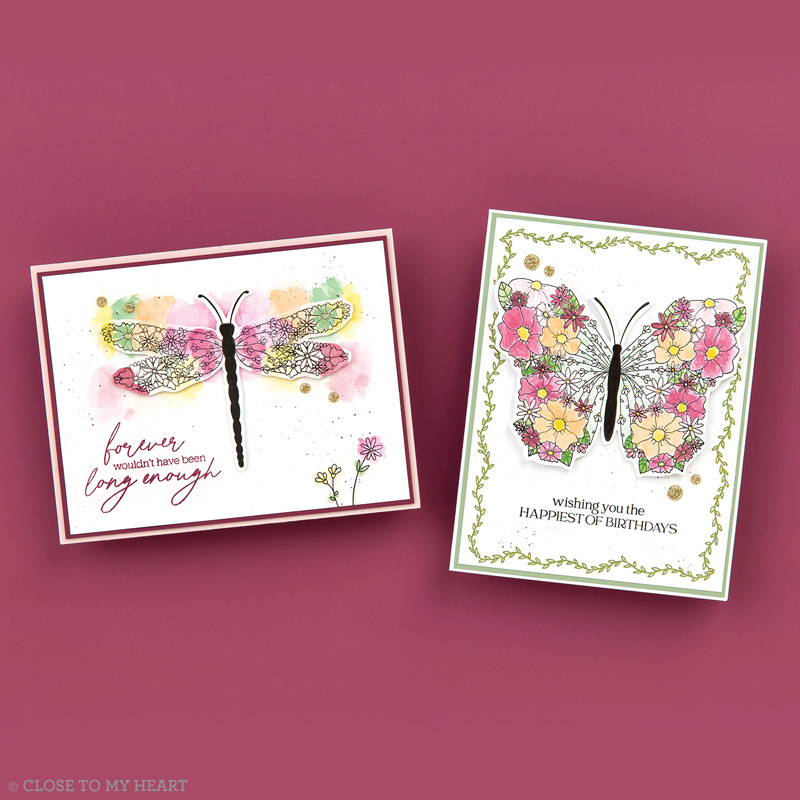 Winged Masterpiece Greeting Card Examples